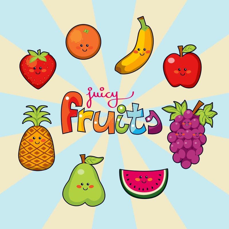 fruits сочно бесплатная иллюстрация