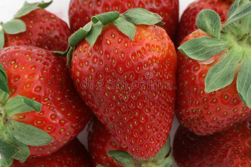 Fruits 009 Strawberry Many Stock Images