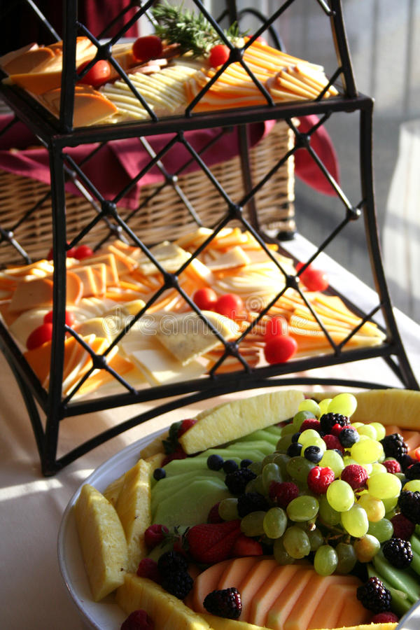 Free Fruits And Cheeses Stock Photography - 9376652