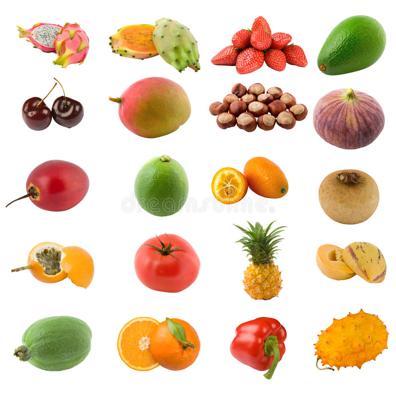 Free Fruits And Nuts Royalty Free Stock Photo - 4117735