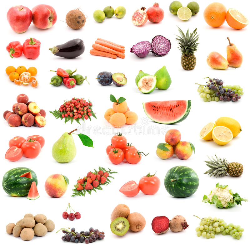 Free Fruits And Vegetables Stock Photo - 7101940