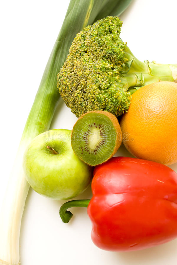 Free Fruits And Vegetables Royalty Free Stock Images - 9912559