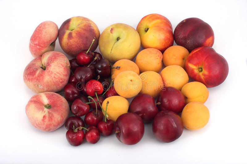 Fruits avec la piqûre image libre de droits