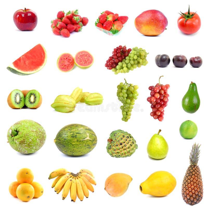 Fruits Big collection royalty free stock photos