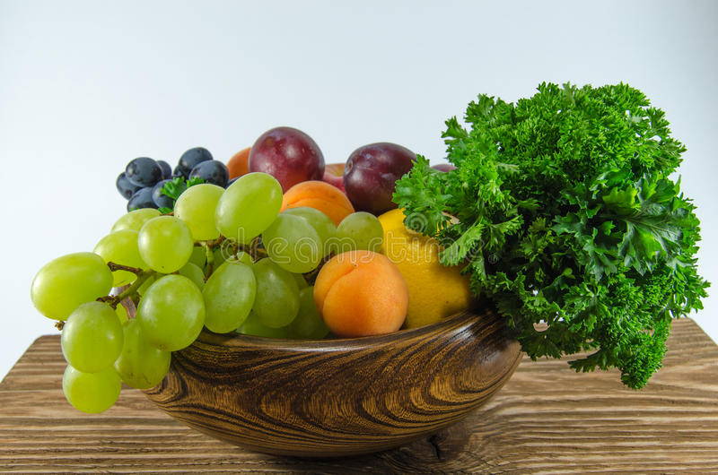 Fruits. The bright, tasty, juicy fruit stock photos