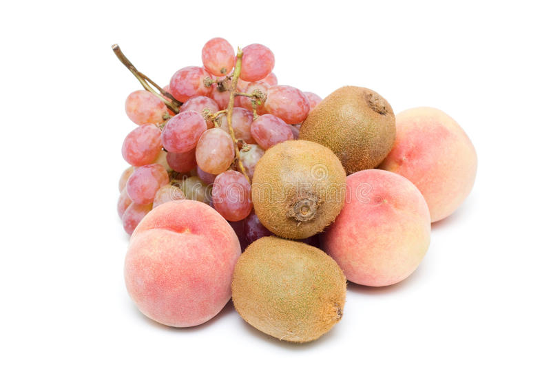 Fruits (clipping path) stock image