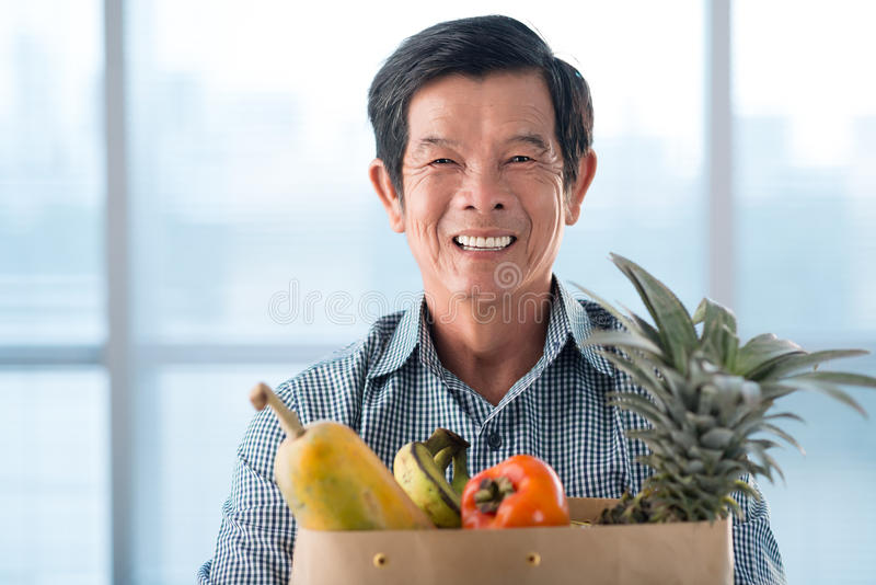 Download With fruits stock photo. Image of male, looking, husband - 34646788