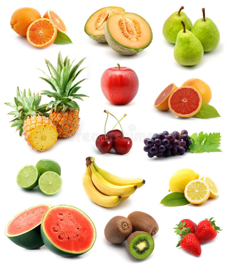 Free Fruits Collection Royalty Free Stock Photos - 5415518