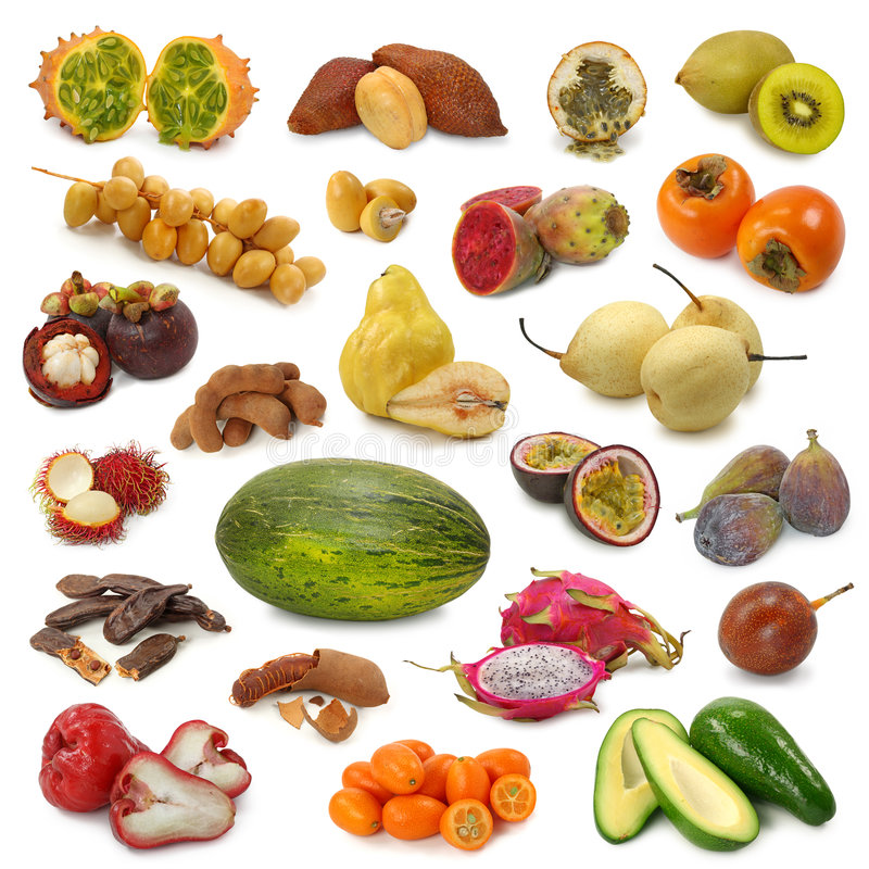 Free Fruits Collection Royalty Free Stock Photos - 7221888