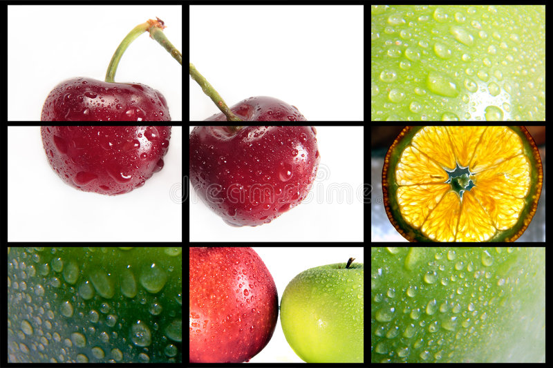 Fruits composition royalty free stock image
