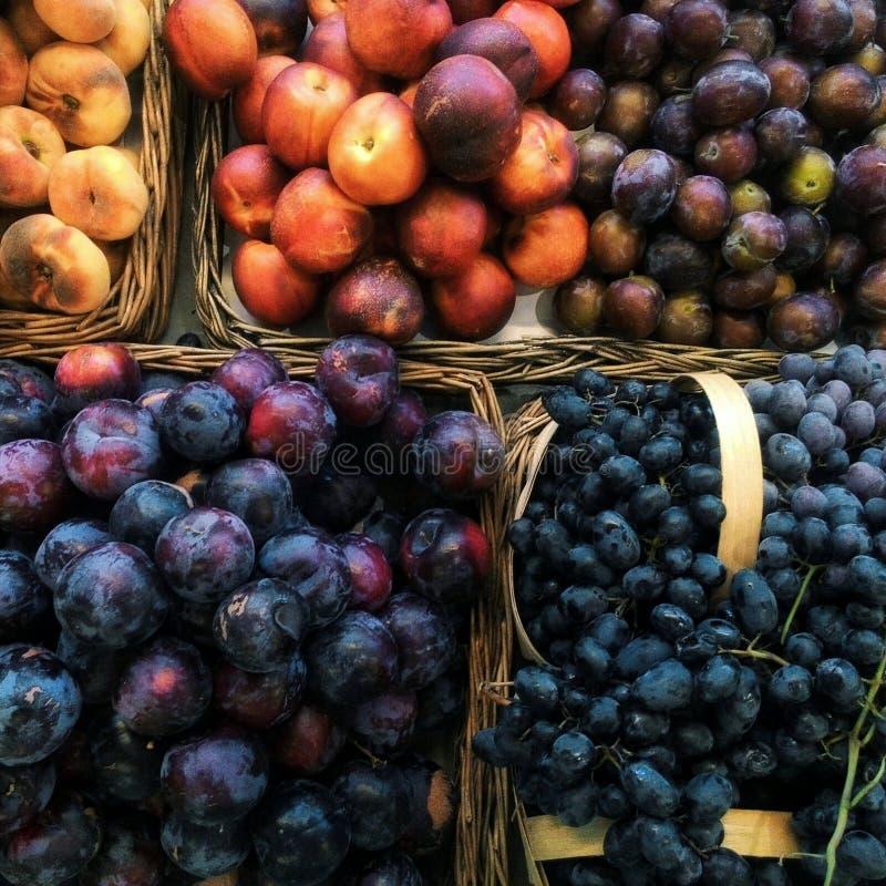 Fruits d'été photographie stock