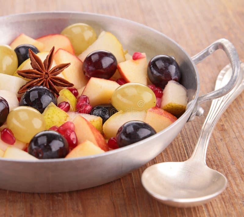Fruits d'automne avec l'anis d'étoile image libre de droits