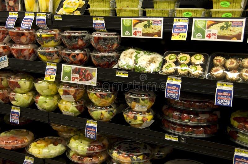 Fruits de épicerie photo libre de droits