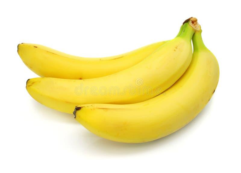 fruits de banane d 39 isolement sur le fond blanc photo stock image du r gime entier 5265112. Black Bedroom Furniture Sets. Home Design Ideas