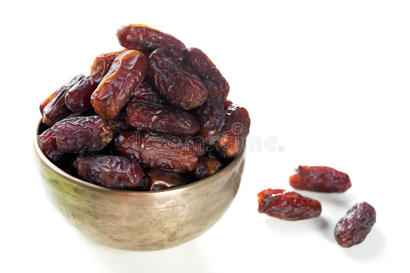 Fruits de date de nourriture de Ramadan photos stock