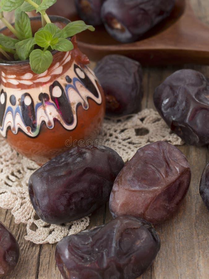 Fruits de datte photo stock