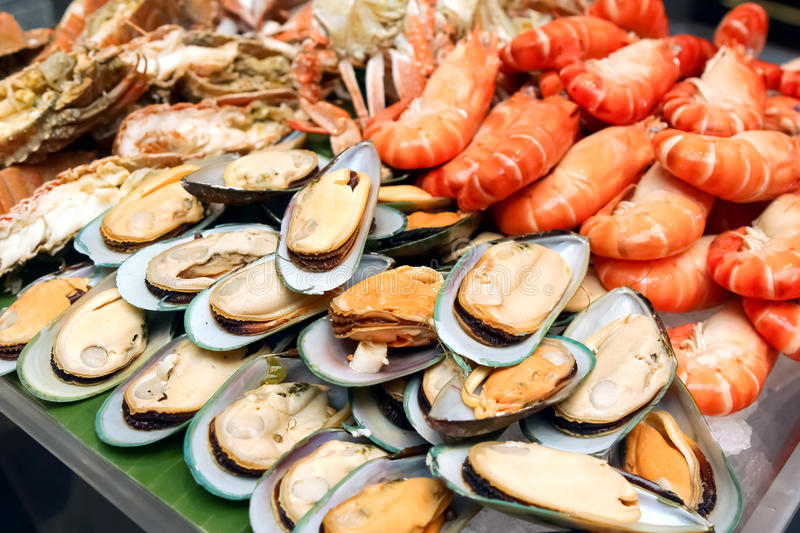 Fruits de mer photo stock