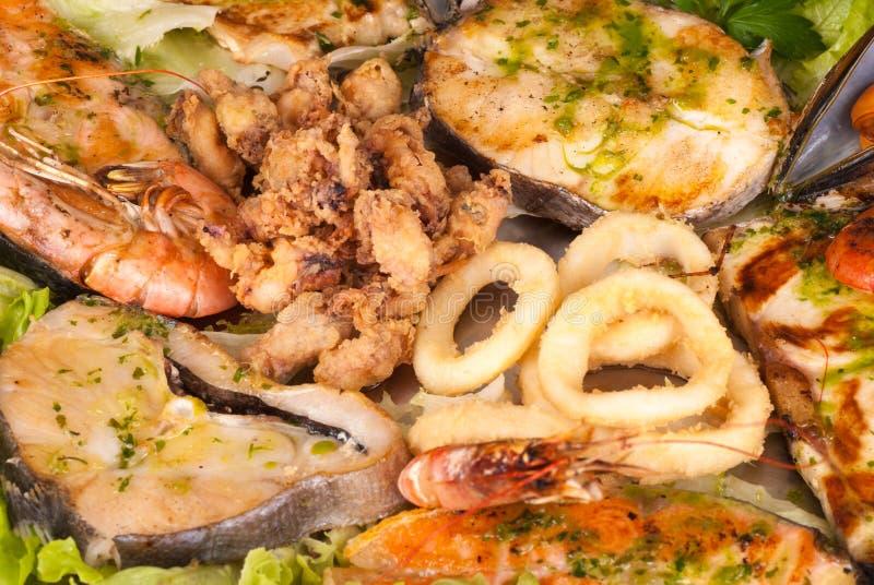 Fruits de mer assortis image libre de droits