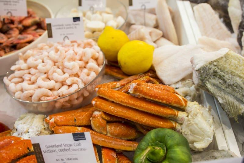 Fruits de mer et ?quipement industriel pour l'industrie de la p?che images stock