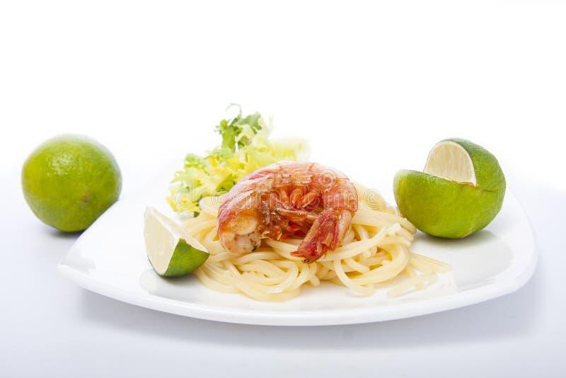 Fruits de mer frais, crevette image stock