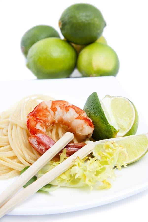 Fruits de mer frais, crevette photo libre de droits