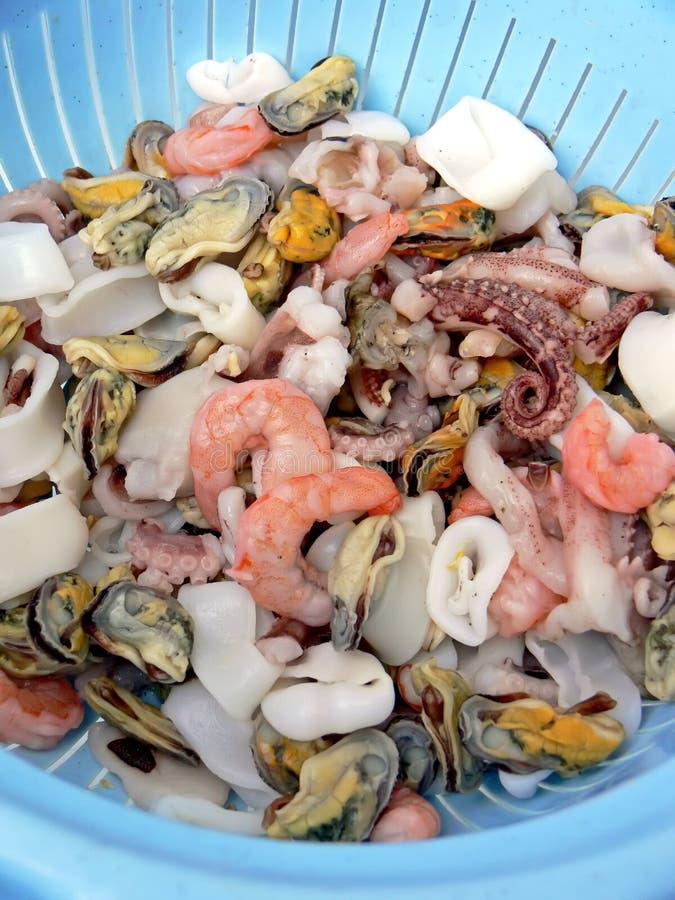 fruits de mer frais de passoire photos stock