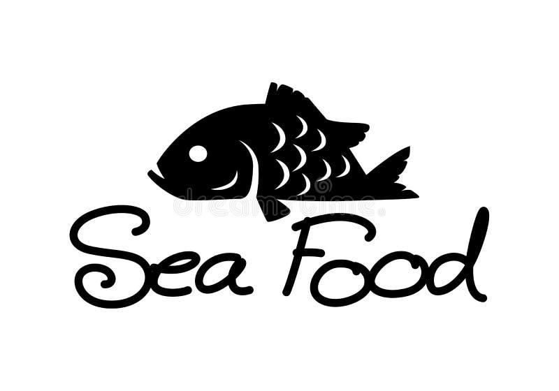 Fruits de mer graphiques, vecteur illustration libre de droits