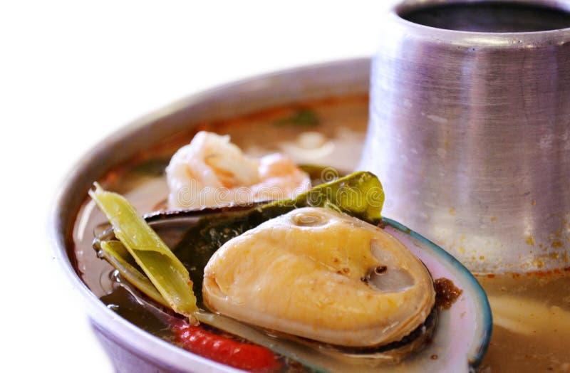 Fruits de mer Tom Yum photo libre de droits