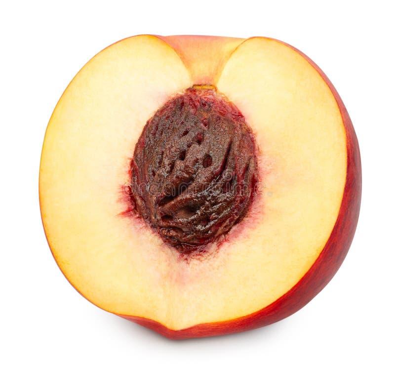 Fruits de p?che d'isolement photographie stock