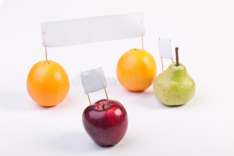 Download Fruits Demonstrate And Protest Stock Photo - Image: 24876710