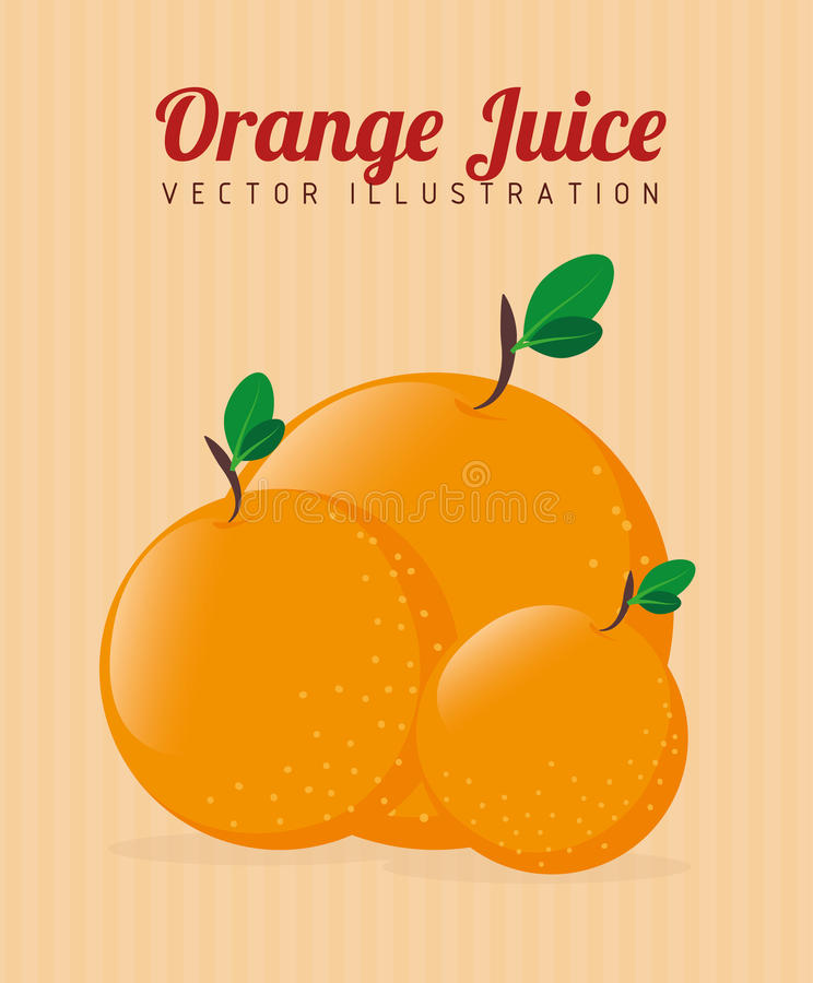 Fruits design stock illustration