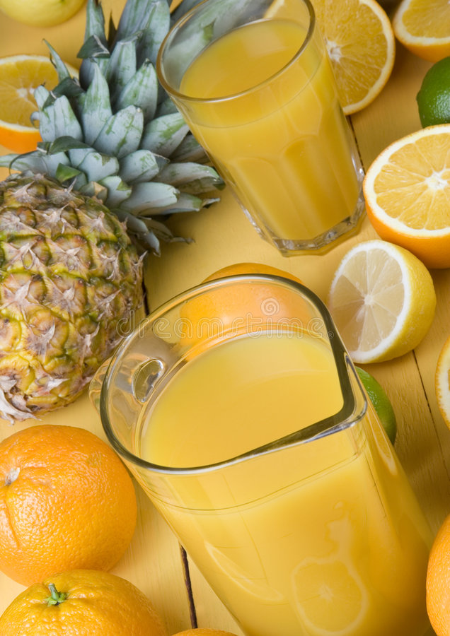 Fruits drink stock photography
