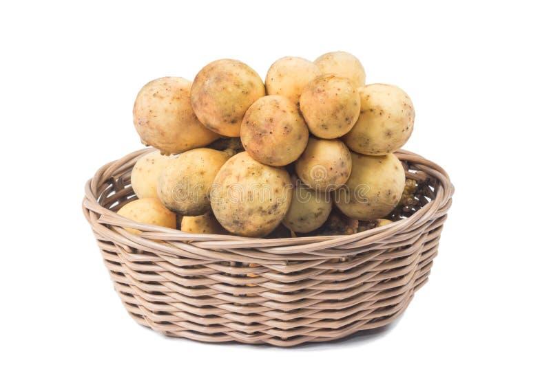 Fruits du sud de Langsat et x28 ; Domesticum& x29 de Lansium ; image stock