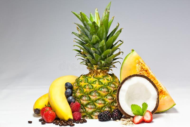 Fruits ensemble photographie stock