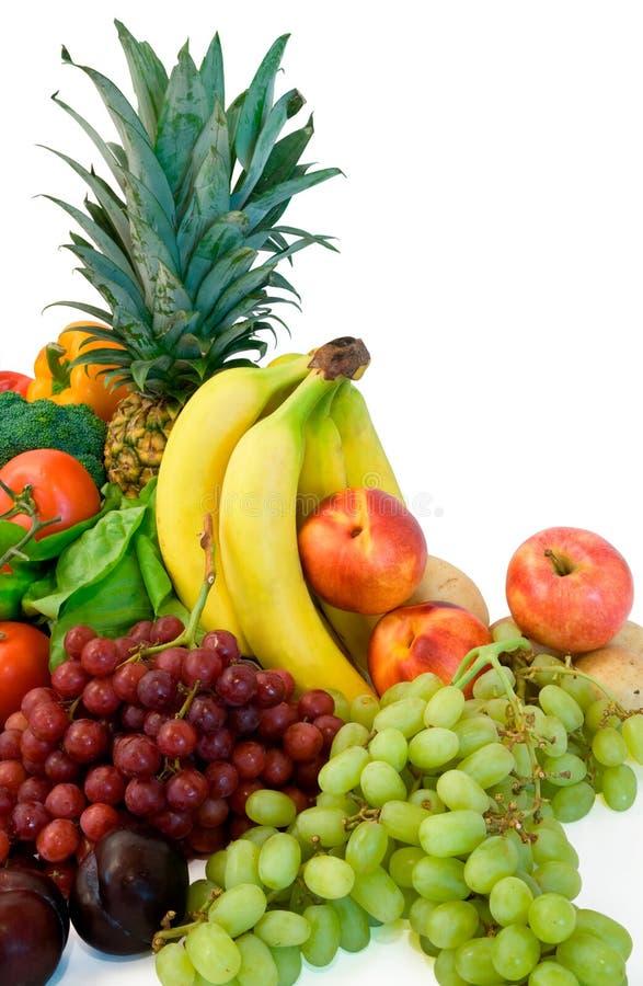 Fruits et des Veggies image libre de droits