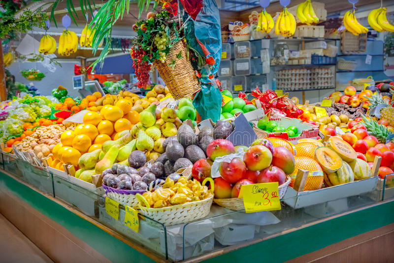 Fruits et légumes images stock