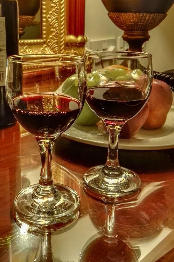 Fruits et vin images stock
