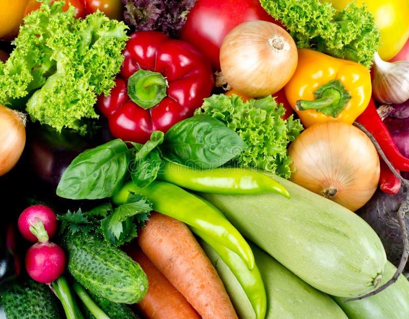 Fruits frais et légumes images libres de droits