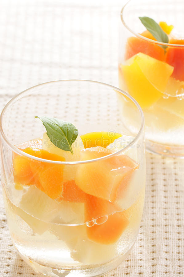Fruits Jelly royalty free stock images