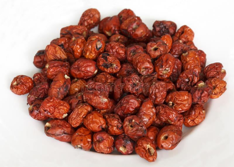 Fruits rouges secs de jujube photo libre de droits