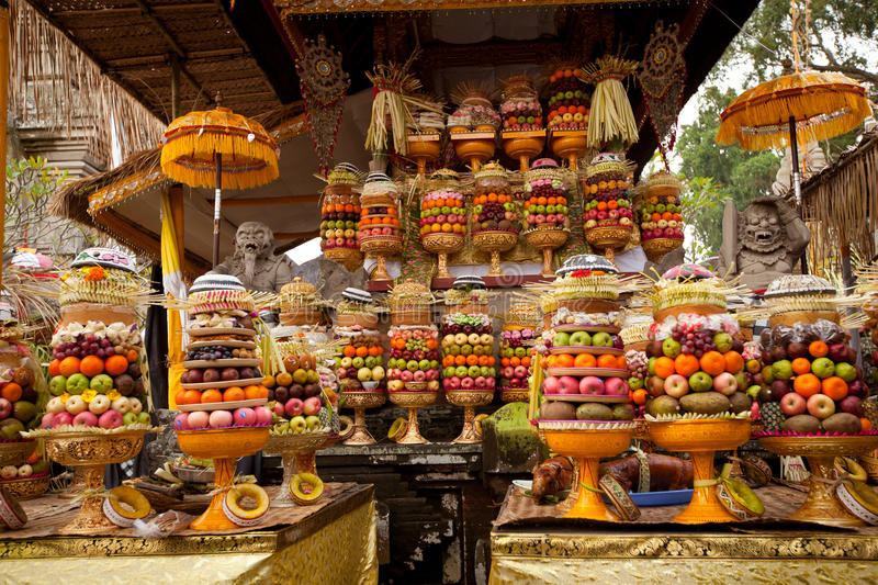 Download Fruits of Sacrifice stock image. Image of ceremony, fruits - 26921537