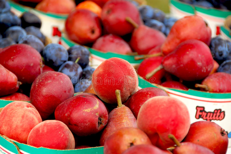 Download Fruits for sale stock image. Image of basket, august - 17802077