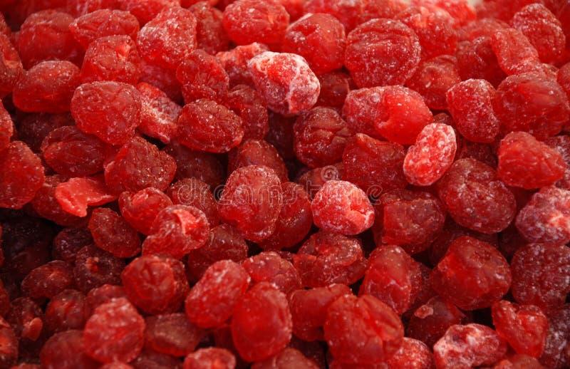 Fruits secs - cerise photo libre de droits