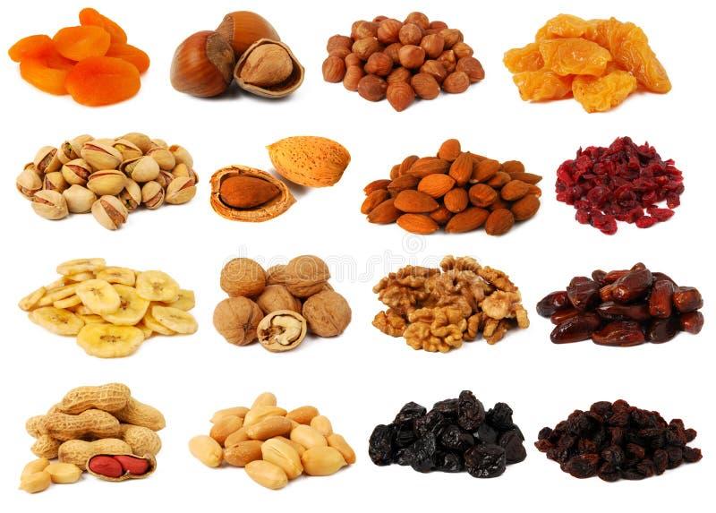 fruits secs nuts photos libres de droits