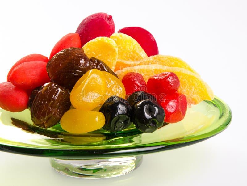 Fruits secs sur le fond photo libre de droits