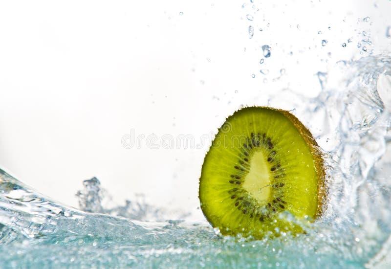 Fruits&splashes royalty free stock photo