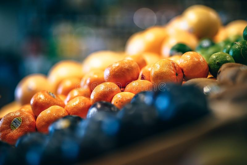 Fruits Stall royalty free stock photo