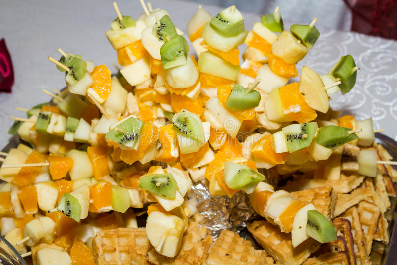 Download Fruits on stick stock image. Image of ananas, calories - 25565023