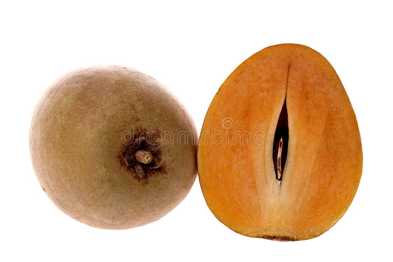 Fruits tropicaux de Ciku photos libres de droits