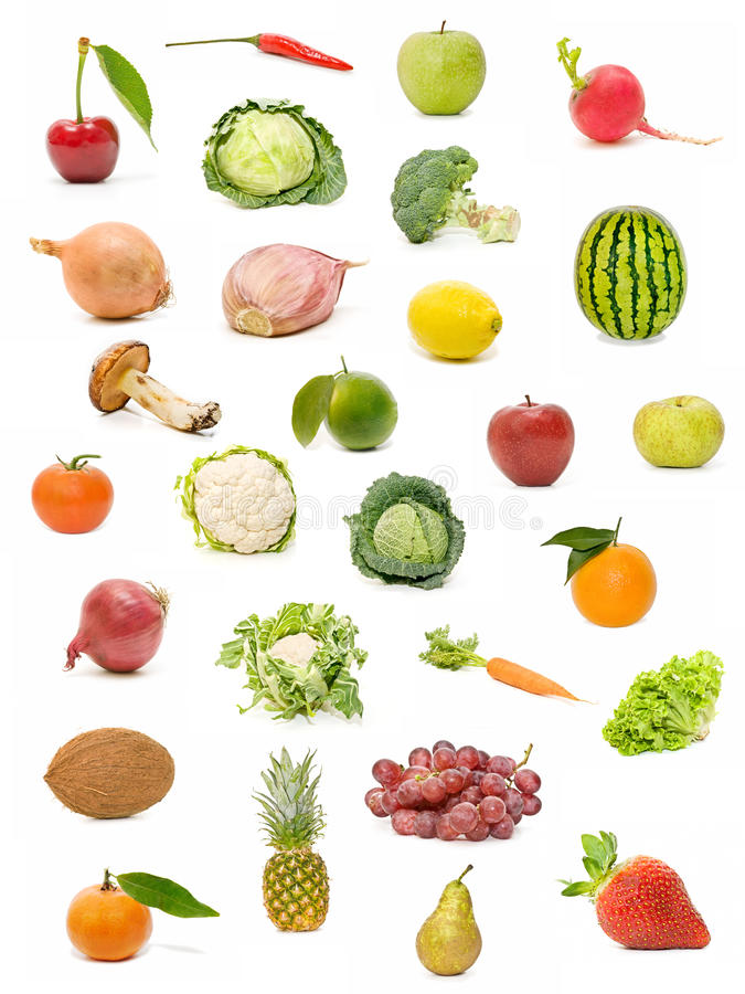 Download Fruits and vegetables stock image. Image of pineapple - 15423295
